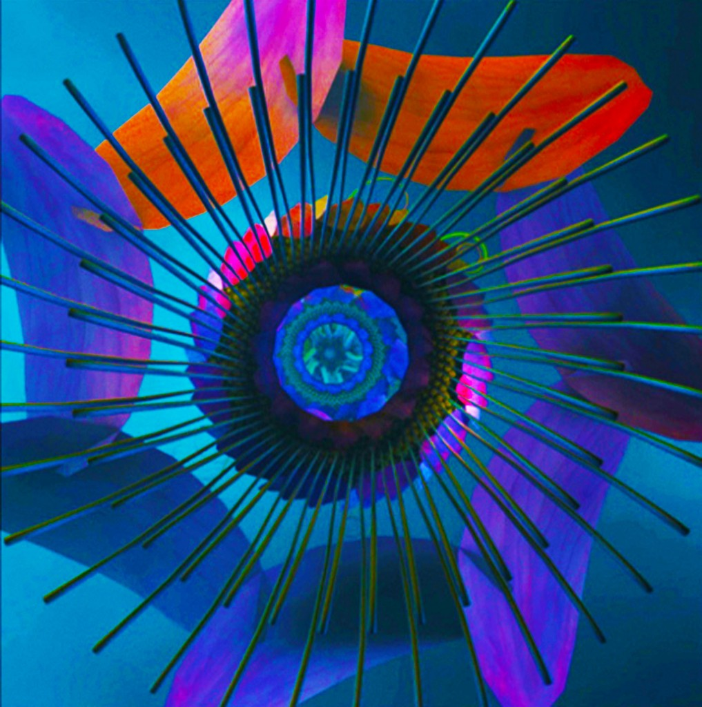 fleur 3D bernard szajner